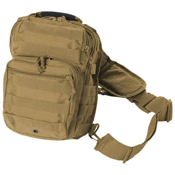 Mil-Tec Sac à dos Assault One Strap petite taille Coyote