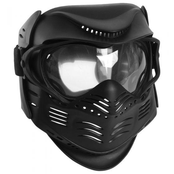 Mil-Tec Masque de paintball noir