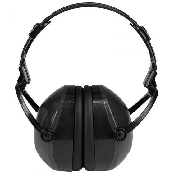 Mil-Tec Casque de protection anti-bruit noir