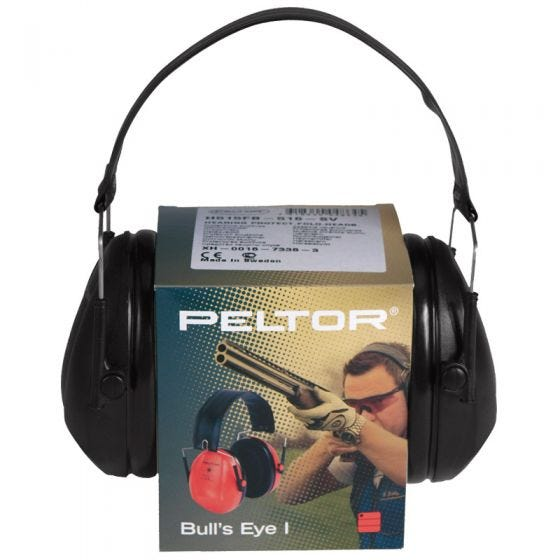 Peltor Casque de protection anti-bruit Bull's Eye I noir
