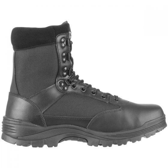 Mil-Tec Bottes militaires SWAT noires