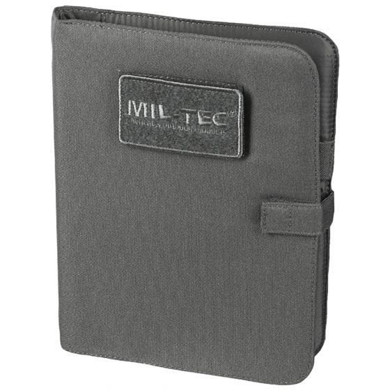 Mil-Tec Bloc-notes tactique taille moyenne Urban Grey