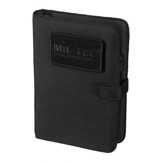 Mil-Tec Bloc-notes tactique petite taille noir