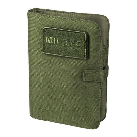 Mil-Tec Bloc-notes tactique petite taille vert olive