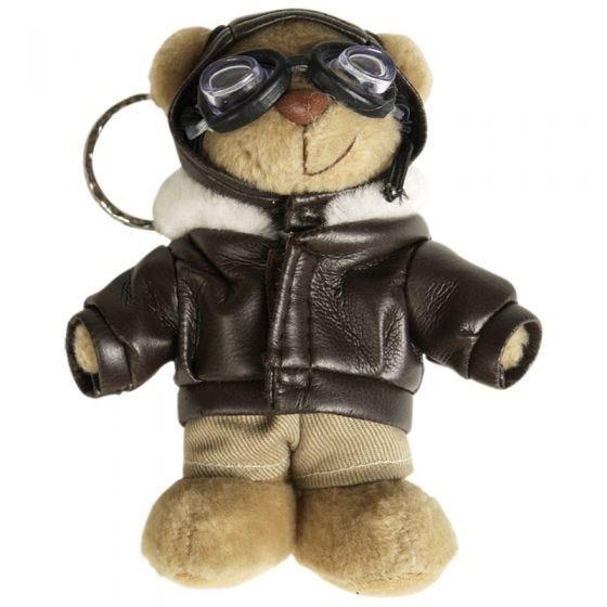 Mil-Tec Porte-clés ours en peluche pilote