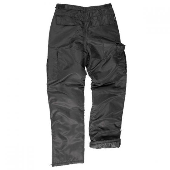 Mil-Tec Pantalon thermique US MA1 noir