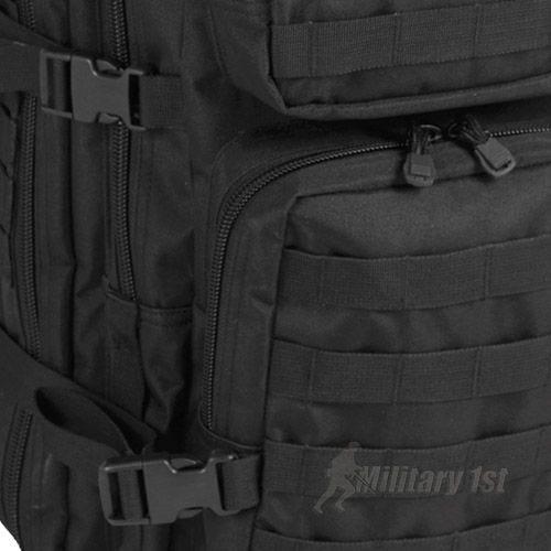 Mil-Tec Sac à dos US Assault MOLLE grande taille noir