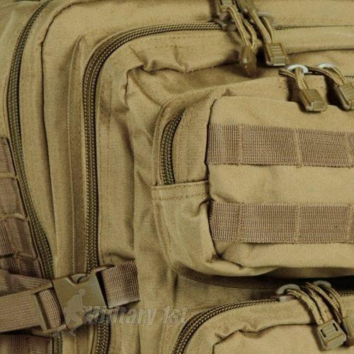 Mil-Tec Sac à dos US Assault MOLLE grande taille Coyote