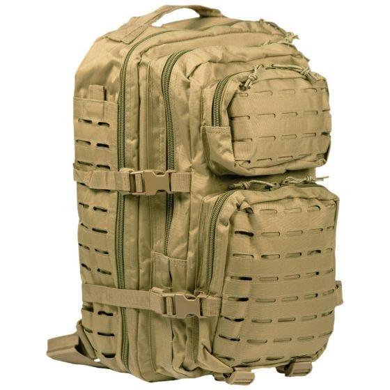 Mil-Tec Sac à dos US Assault découpé au laser grande taille Coyote