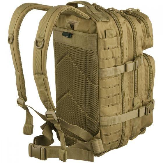 Mil-Tec Sac à dos US Assault découpé au laser petite taille Coyote