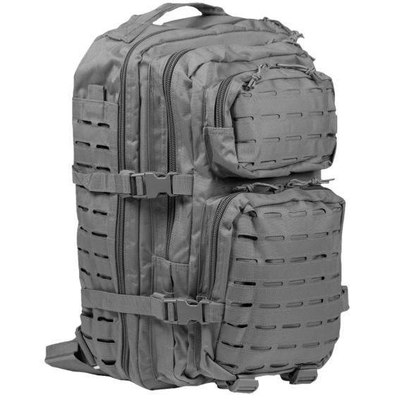 Mil-Tec Sac à dos US Assault découpé au laser grande taille Urban Grey