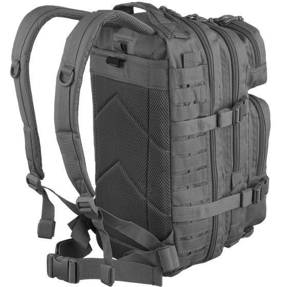 Mil-Tec Sac à dos US Assault découpé au laser petite taille Urban Grey
