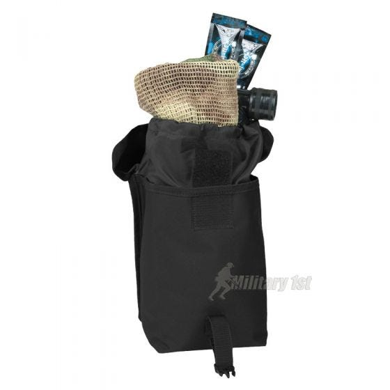 Mil-Tec Grande pochette utilitaire MOLLE noire