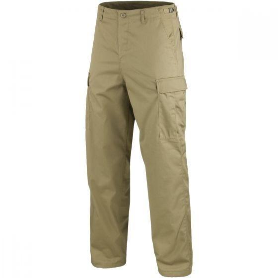 Mil-Tec Pantalon militaire BDU Ranger kaki