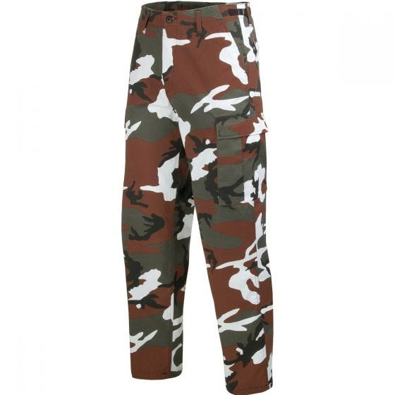 Mil-Tec Pantalon militaire BDU Ranger Red Camo