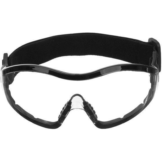 Mil-Tec Lunettes de protection Commando Para à verres transparents