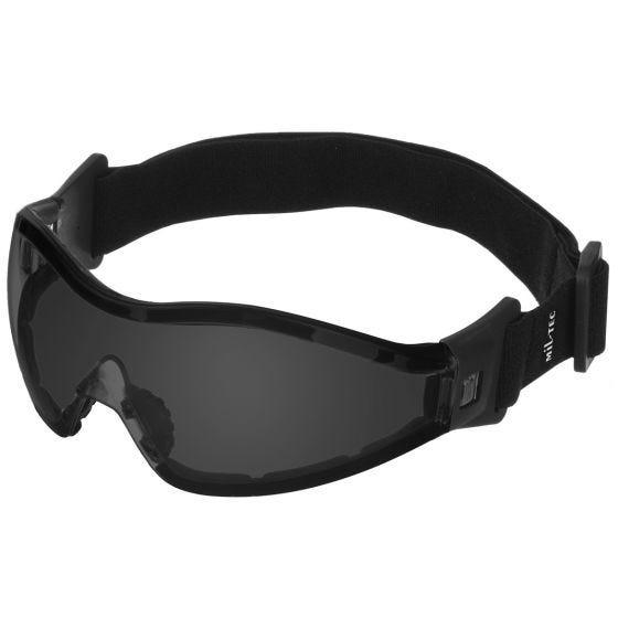 Mil-Tec Lunettes de protection Commando Para à verres fumés