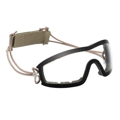Swiss Eye Masque balistique Infantry à verres transparents