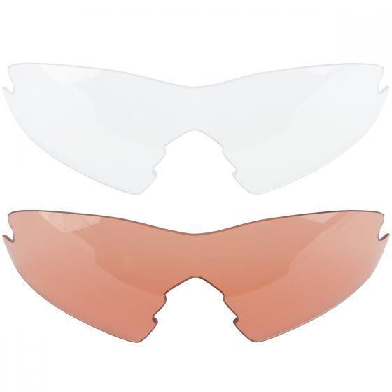 Swiss Eye Lunettes de soleil Novena avec 3 types de verres et monture noire mate/grise