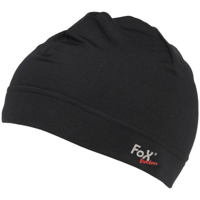 Fox Outdoor Bonnet de course noir