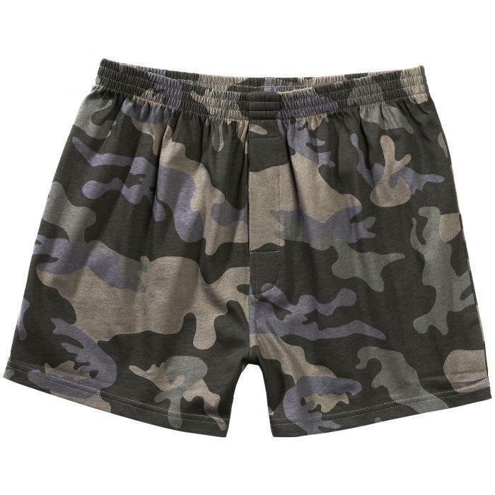 Brandit Boxer Shorts Dark Camo
