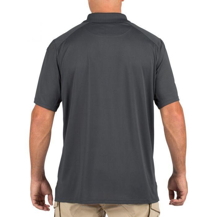 5.11 Helios Polo Short Sleeve Charcoal