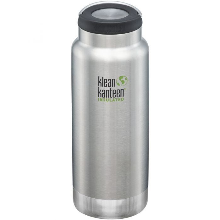 Klean Kanteen TKWide Gourde isolante 946 ml avec Bouchon à anneau Brushed Stainless