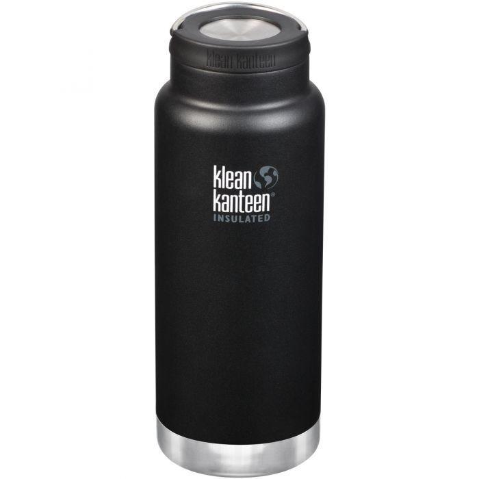Klean Kanteen TKWide Gourde isolante 946 ml avec Bouchon à anneau Shale Black