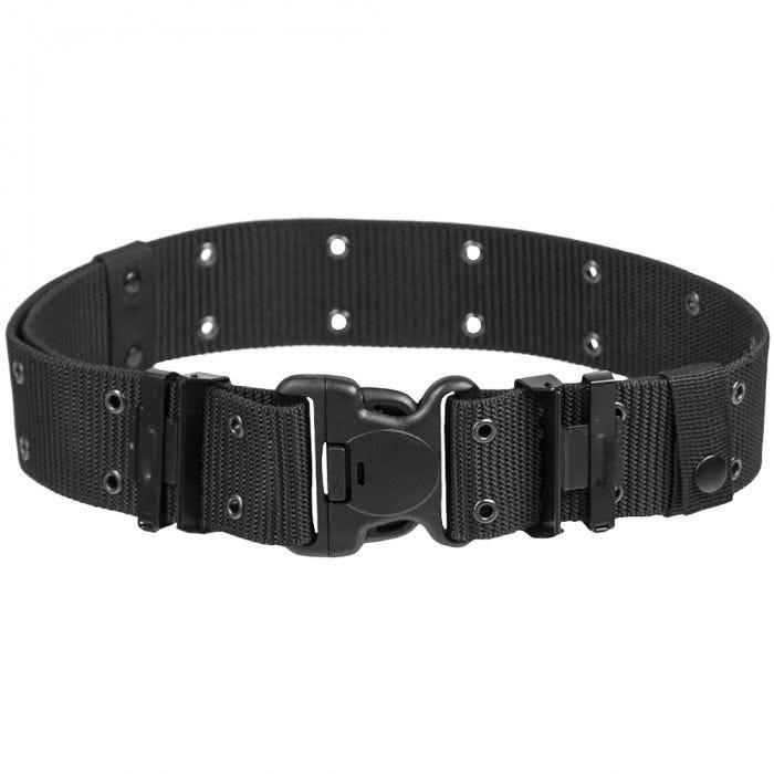 Mil-Tec US LC2 Duraflex Buckle Belt Black