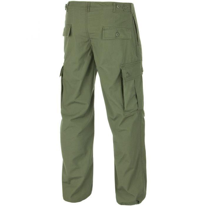 Teesar Pantalon US M64 Vietnam vert olive