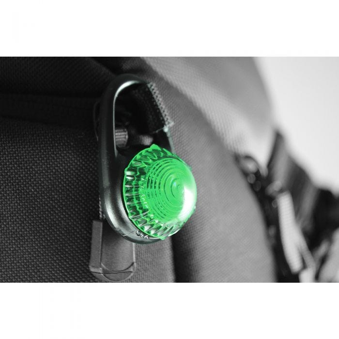 Adventure Lights Lampe clipsable Guardian Tag-It verte