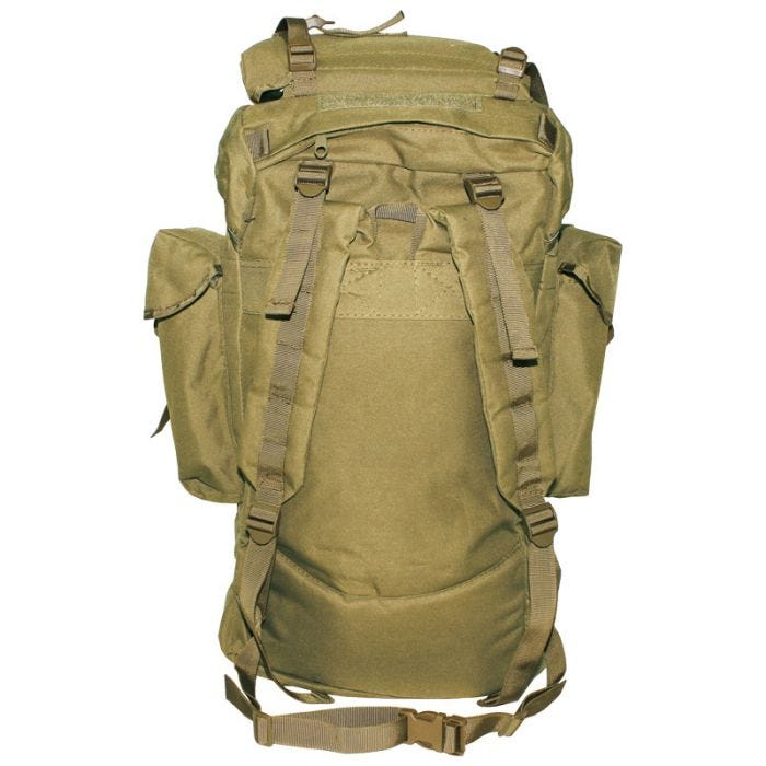 MFH Sac à dos German Army 65 L Coyote