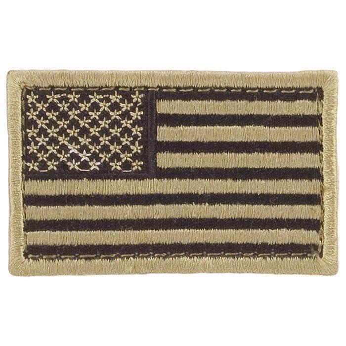 Condor Écusson drapeau des USA Tan