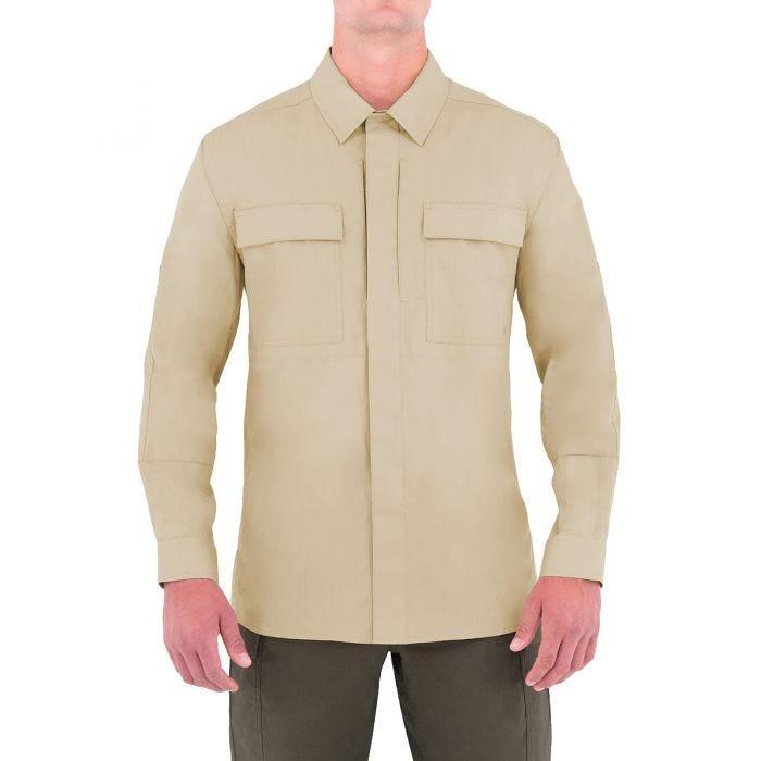 First Tactical T-shirt à manches longues pour homme Specialist BDU kaki
