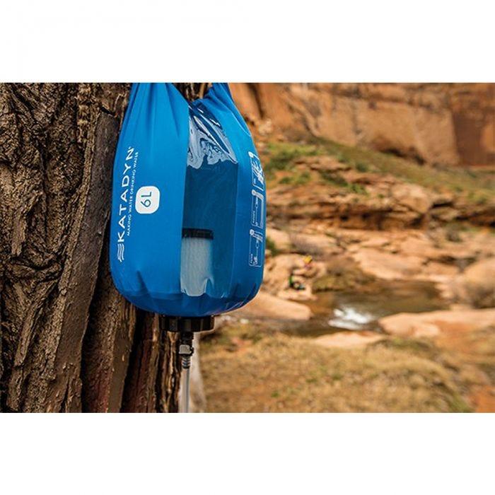 Katadyn Filtre à eau Gravity Camp 6L bleu