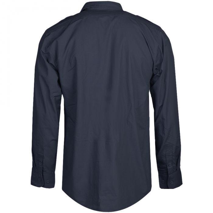 Mil-Tec Chemise à manches longues Ripstop Navy Blue