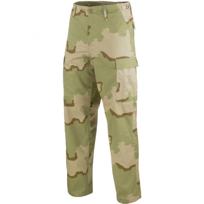 Mil-Tec Pantalon militaire BDU Ranger Desert tricolore