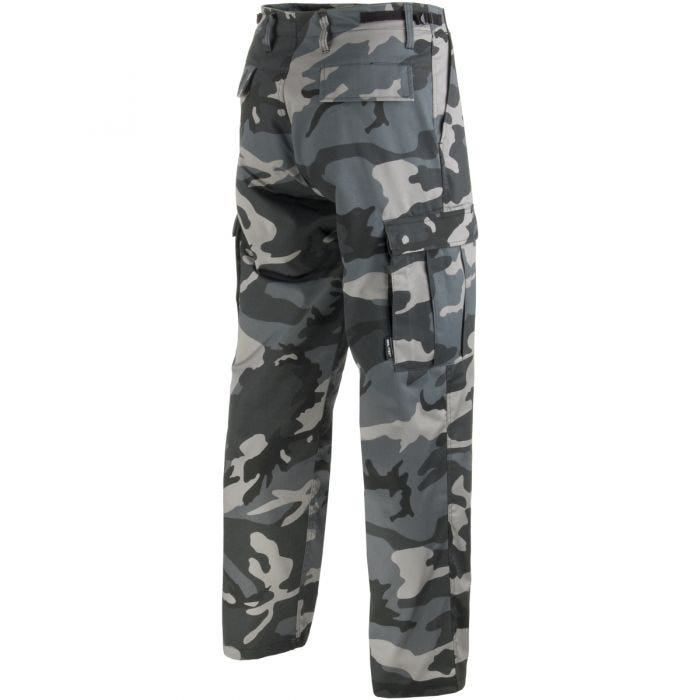 Mil-Tec Pantalon militaire BDU Ranger Dark Camo