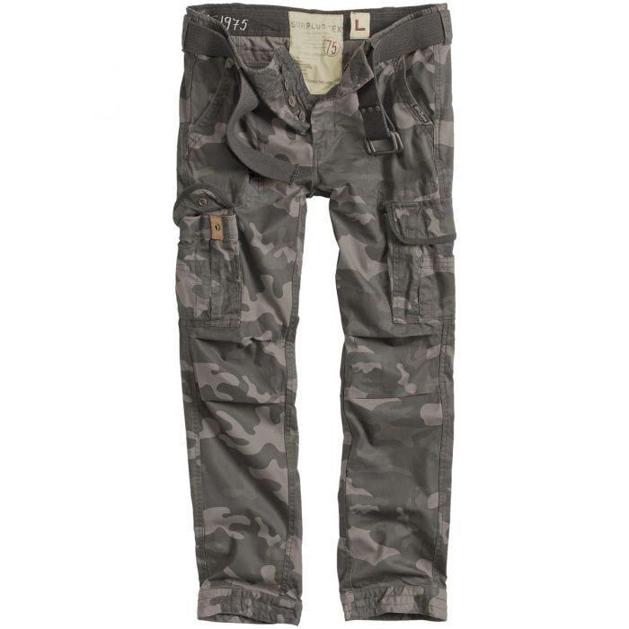 Surplus Pantalon Premimum Slimmy Black Camo