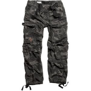 Surplus Pantalon Airborne Vintage Black Camo