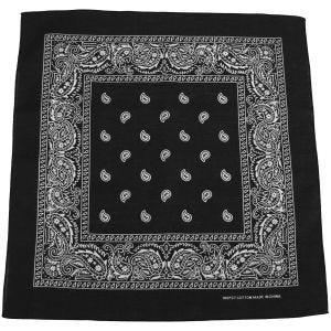 MFH Bandana en coton noir