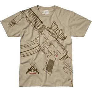 7.62 Design T-shirt Get Some Sand