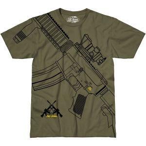 7.62 Design T-shirt Get Some vert