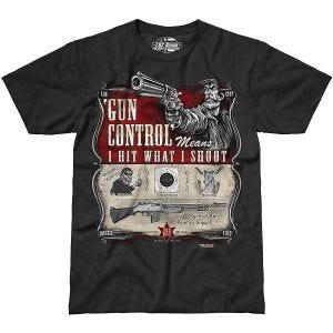 7.62 Design T-shirt Gun Control noir
