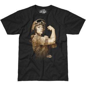 7.62 Design T-shirt Sergeant Sara noir