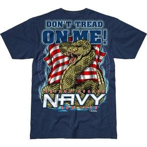 7.62 Design T-shirt USN Don't Tread On Me Battlespace Navy