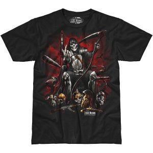 7.62 Design T-shirt Warlord noir
