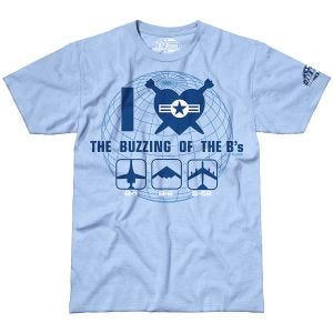 7.62 Design T-shirt The Buzzing of the B's Sky Blue