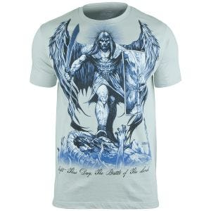7.62 Design T-shirt St Michael Fight This Day Pewter