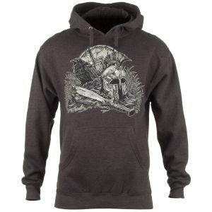 7.62 Design Sweatshirt à capuche With Your Shield Charcoal Heather